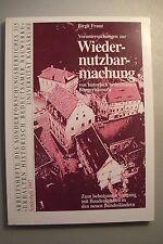 Wiedernutzbarmachung historisch bedeutsamen Bürgerhäusern 1997 Baudenkmale