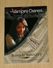 Cryptozoic Vampire Diaries wardrobe costume Bonnie Bennett Kat Graham M7 var #3