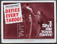 I SPIT ON YOUR GRAVE (1962) 10612