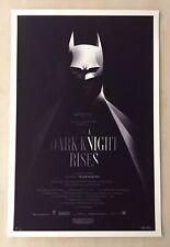 Olly Moss The Dark Knight Rises Variant AP Limited Edition Mondo Print