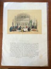 David Roberts First Edition 1840', Sinai Egypt , Oriental,Hand Color Lithograph