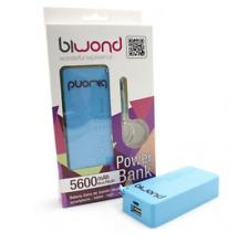 Power Bank 5600mAh Azul Biwond, ipad , galaxy , tab ,bq , lenovo ,