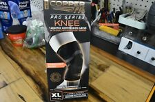 Copper Fit Pro Series Compression Knee Sleeve. Size XL