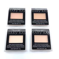 Mary Kay Sheer Mineral Pressed Powder -You Choose- 4 Shades FREE SHIPPING!