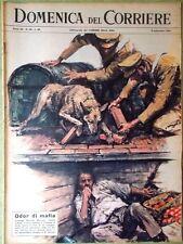 La Domenica del Corriere 8 Settembre 1963 Mafia Mancuso Hazleton Salvataggio Jfk