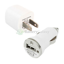 Hot New Usb Mini Battery Wall Ac+Car Power Outlet Charger for Android Cell Phone