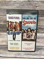 Camp / Saved Double Feature 2-Disc DVD Set 2007 Mandy Moore Macaulay Culkin