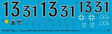 Peddinghaus  0973 1/16 13. Komp. LSSAH Ustuf Michael Wittmann Kursk 1943