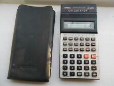 Casio FX-82B Calculadora científica Con Estuche-Probado Y Funcionando