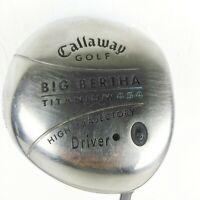 Big Bertha Titanium Driver 454 High Trajectory Graphite 55w Callaway Golf S2H2