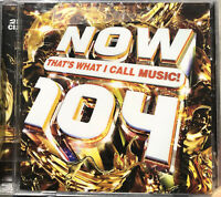 Now That`s What I Call Music 104 (Double CD)  BRAND NEW & SEALED Free Post U.K.