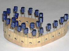 25 x 100 µf / 16v  / 85 °c   condensateurs condensator 100uf  100mf