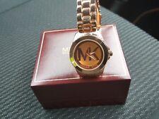 Señoras reloj de oro rosa de Michael Kors Nuevo Regalo Hermoso Regalo no deseado