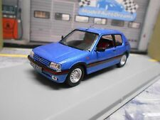 PEUGEOT 205 GTI 1.6 1992 blau blue met NEW NEU IXO White Box 1:43