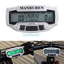 VS2# Digital LCD Backlight Bicycle Computer Odometer Bike Speedometer Stopwatch