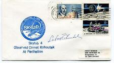 1973 Skylab 4 Comet Kohoutek Perihelion Spaceflight Tracking Data USA SIGNED