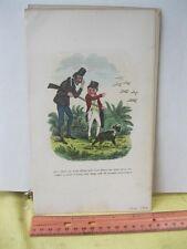Vintage Print,BIRDS ON WING,Seymour Sketcheds,1846