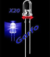 20X Diodo LED 5X9 mm Azul 2 Pin alta luminosidad