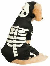 Glow-In-The-Dark Skeleton Hoodie Dog Costume Large Rubie's