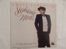 "STEPHANIE MILLS ""Sweet Sensation"" PICTURE SLEEVE! NEW! ONLY NEW COPY ON eBAY!"