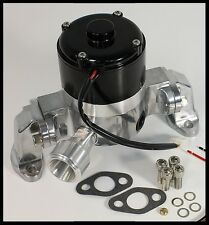 SBC CHEVY ELITE ULTRA FLOW ELECTRIC WATER PUMP POLISHED # E-5926-P