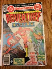 Adventure Comics 465 Justice Society of America Deadman Flash Aquaman 1979