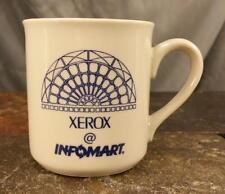 Vintage '90's Xerox @ Infomart Trade Show Vendor Dallas Texas Coffee Mug Tea Cup