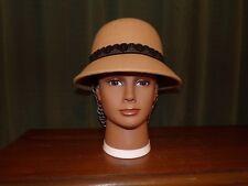 Ladies Civil War Reenactor Tan Wool Hat to Design