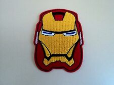 New Iron Man Stark DC Superhero Embroidered Patch Applique Badge Iron Sew On
