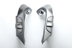 Honda Element Steering Wheel Cruise Button Volume Control Switch Grey Set A930 2