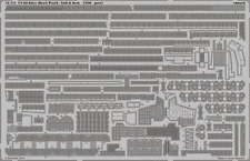 Eduard 1/350 USS Kitty Hawk CV-63 parte 2-Hull & Deck # 53171