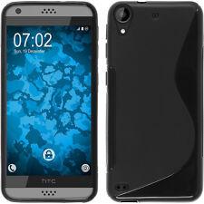 Black Soft S-Line Gel TPU Silicone Case Skin Cover For HTC Desire 530 630