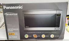 Panasonic NN-T945SF 2.2 Cu.Ft. 1250W Countertop Microwave Oven - Stainless steel