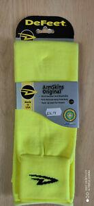 De Feet Armskin Neon Yellow L/XL