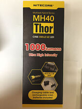 BRAND NEW NITECORE MH40 1000 Lumen Flashlight