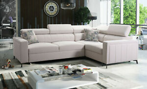 Brand New Corner Sofa Bed With Storage  Baltico II