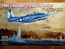 Hobbyboss 1:48 TBM-3 Avenger Torpedo Bomber Aircraft Model Kit