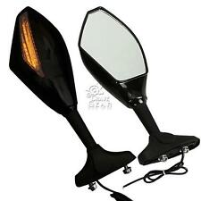 Motorcycle Rearview Mirrors W/ Signal Light For Honda CBR 600 F1/F2/F3/F4/F4i