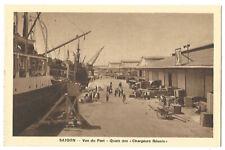 Vietnam Saigon View From Port Wharf Of Chargers Reunis