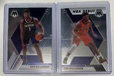 New Listing19-20 Mosaic Basketball Zion Williamson Base Set