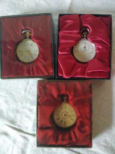 Sammlertaschenuhr; 3 Stück; Quarz ; OVP;Uhr ; Taschenuhr , 3
