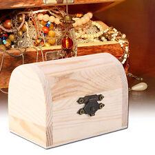 Handiwork Wooden Ingots Jewelry Box Base Art Decor DIY Wood Crafts Collect IL