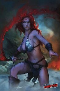RED SONJA (2021) #1 SHANNON MAER NYCC VARIANT LIMITED TO 500 COPIES