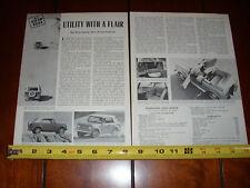 1966 INTERNATIONAL SCOUT ORIGINAL ARTICLE