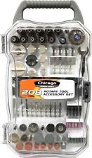 Rotary Tool Accessories Kit 208PC Assortment Kit, Polish, Grind, Cut