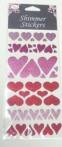 planche avec autocollants strass, coeurs, papillons,fleurs, coccinelles,  G-T3