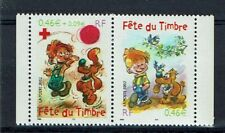 FRANCE TIMBRE - PAIRE 3467A - FETE DU TIMBRE 2002 NEUF LUXE ** BOULE ET BILL