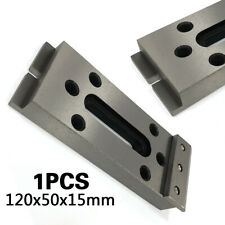 Wire Edm Fixture Board Jig Tool Clamp Platen Fixture Tool Stainless 12x5x1.5cm