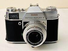 Kodak Retina Reflex S SLR Vintage camera Retina-Ysarex f/2.8 lens Untested