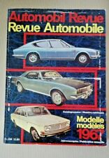 AUTOMOBIL REVUE 1967 REVUE AUTOMOBILE - BUONE CONDIZIONI pagine 482 VEDERE FOTO